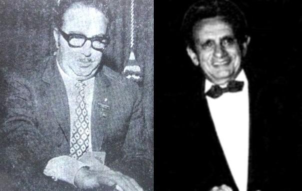 Giorgio Belladonna and Benito Garozzo