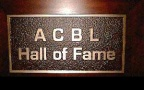 Record for this person by 'Hall of fame' by ACBL