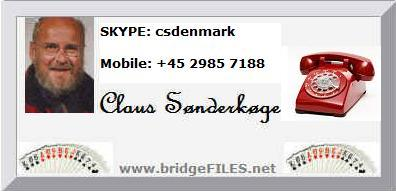 Communicate with Claus Snderkge - csdenmark